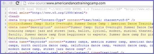 Camp Meta Tags